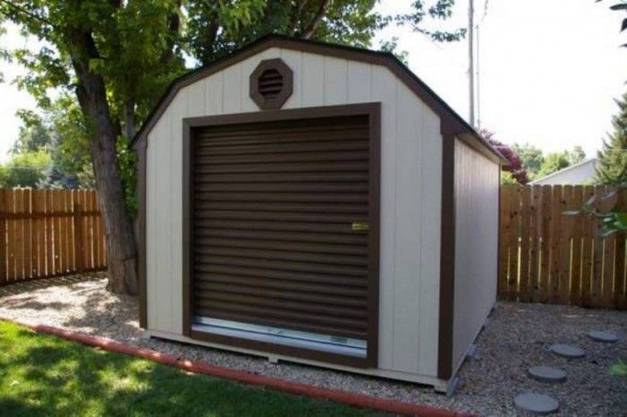 Outdoor Roll Up Shed Door Shed Shed Doors Doors