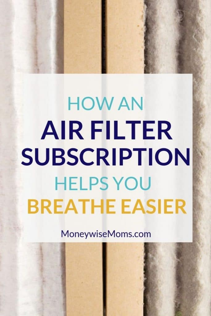 How an Air Filter Subscription helps you Breathe Easier