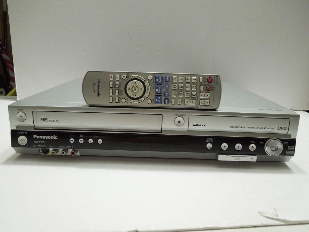 Panasonic Vhs Dvd Player Combo Dmr Es35v Remote Panasonic Vhs To Dvd Vhs Remote