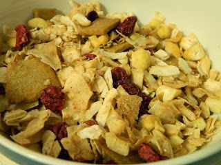 """Homemade """"Cold Cereal"""" #Paleo Friendly #Low Carb #Sugar Free 