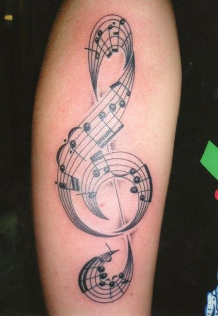 Photo of Music Tattoo Drums Treble Clef 34+ Ideas For 2019
