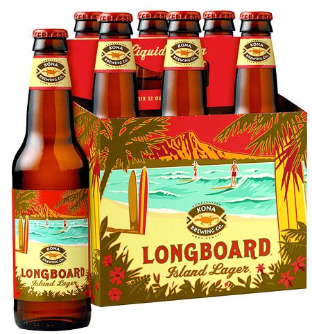 a fun fact about Kona, they hire local artist to design the packaging- Love it! They have another beer called Koko Brown which is bombin!