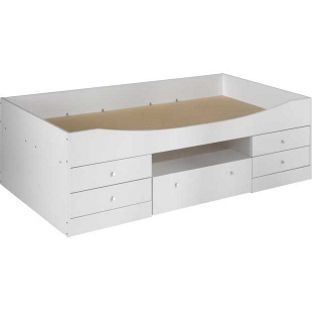 163 139 99 Malibu Cabin Bed Frame White From Homebase Co