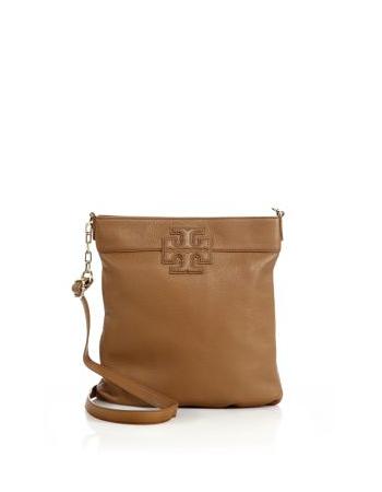 Tory Burch Logo-Accented Crossbody Bag - on  sale 30% off     SaksFifthAvenue  ToryBurch 1b5f21e90dea