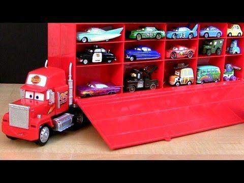 Mack Die Cast Carrier Set Disney Pixar Cars