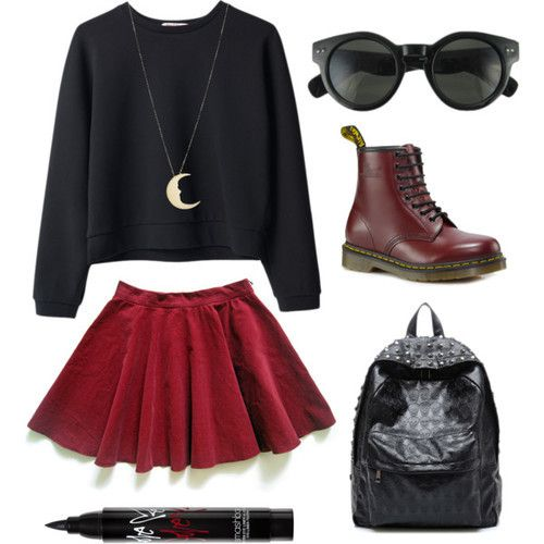 Emo Quotes About Suicide: Polyvore Outfit ~
