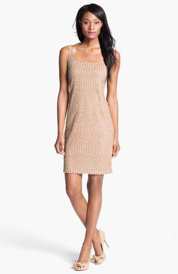 Isaac Mizrahi New York Embellished Sleeveless Mesh Dress available at Nordstrom