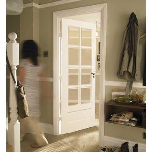Contemporary Glazed Solid Internal Door 8 Light