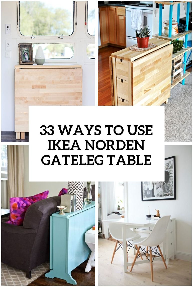Wyas To Use Norden Gateleg Table In Decor Cover With Images