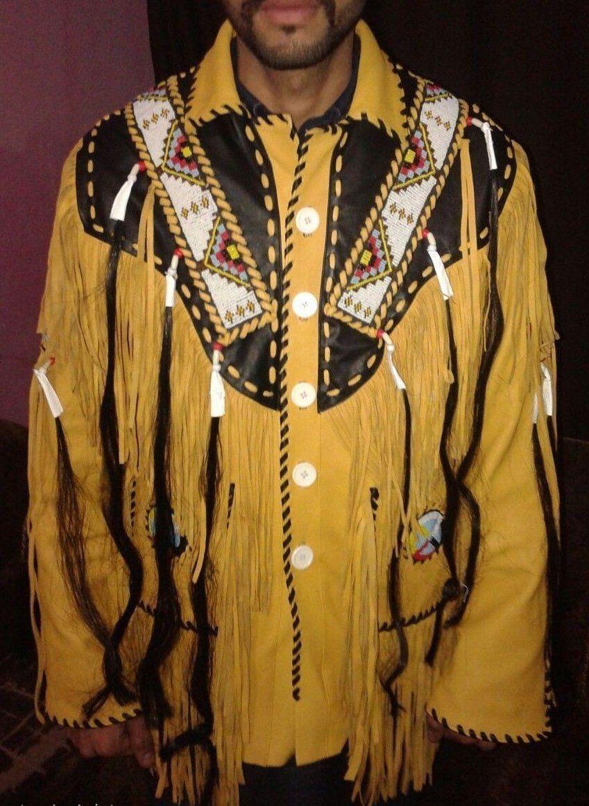 Western Fringed Buckskin Native American Indian Fringe