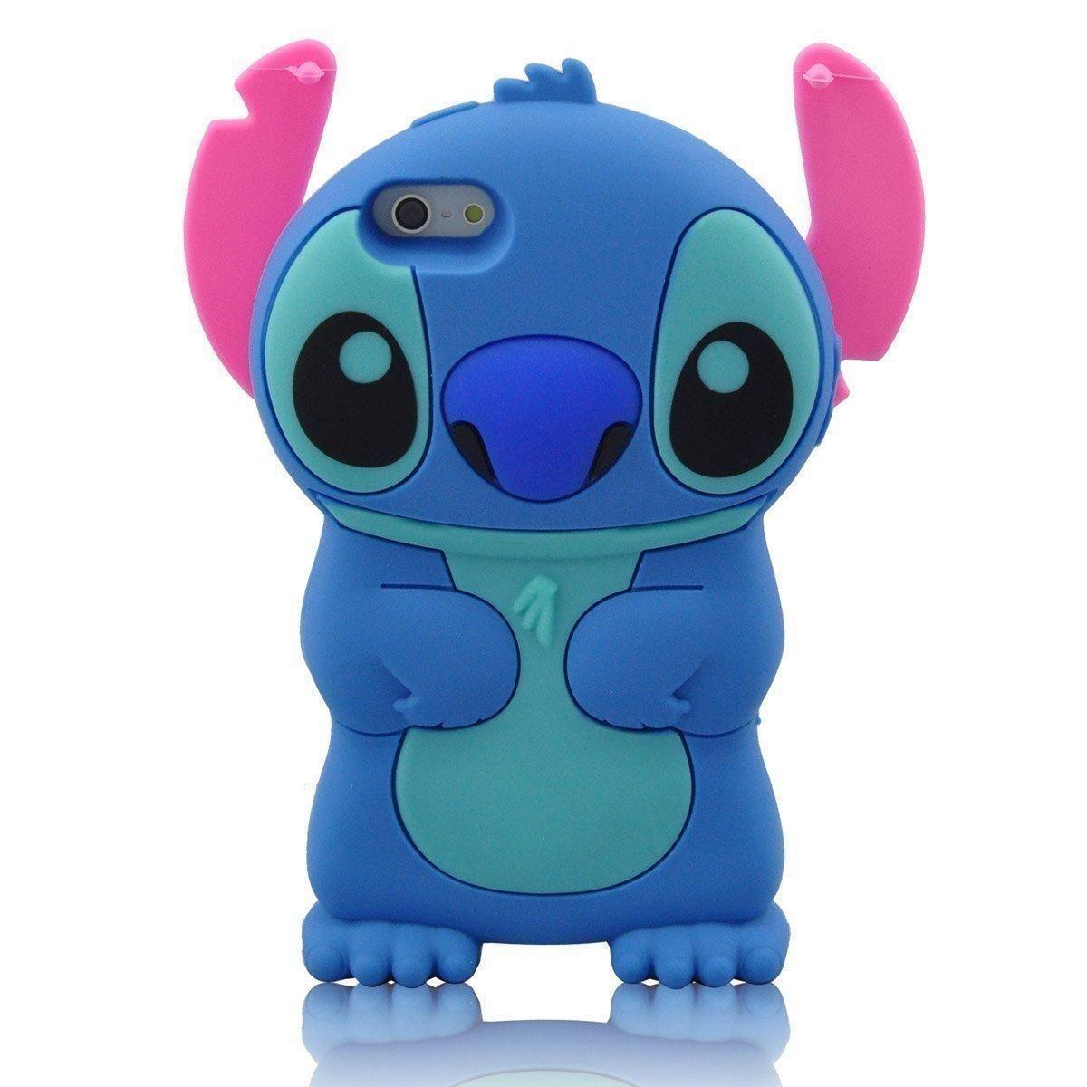 Funda Oficial Lilo y Stitch Azul iPhone 6