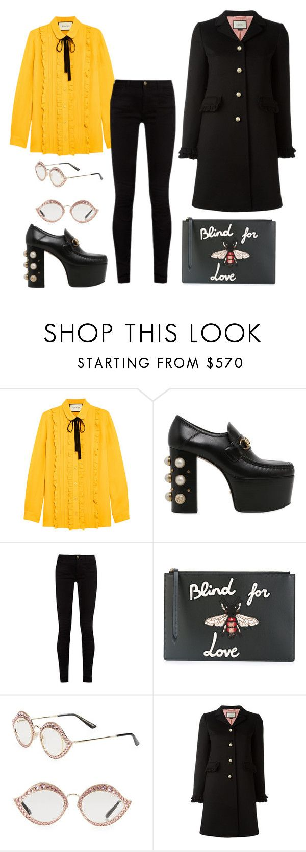 """""""Untitled #1751"""" by dani-gracik on Polyvore featuring Gucci"""