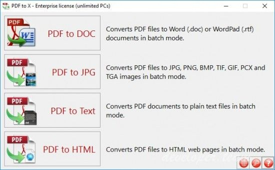 TriSun Software PDF to X 70 Build 04 Developers Paradise - convert excel spreadsheet to html calculator