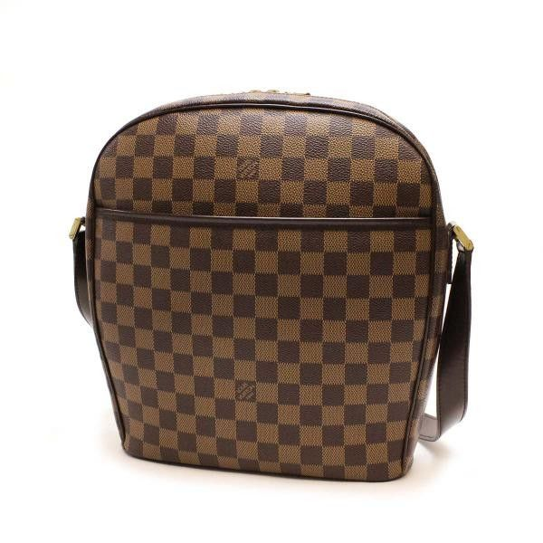 c9a655e651e Louis Vuitton Ipanema GM Damier Ebene Shoulder bags Brown Canvas N51292