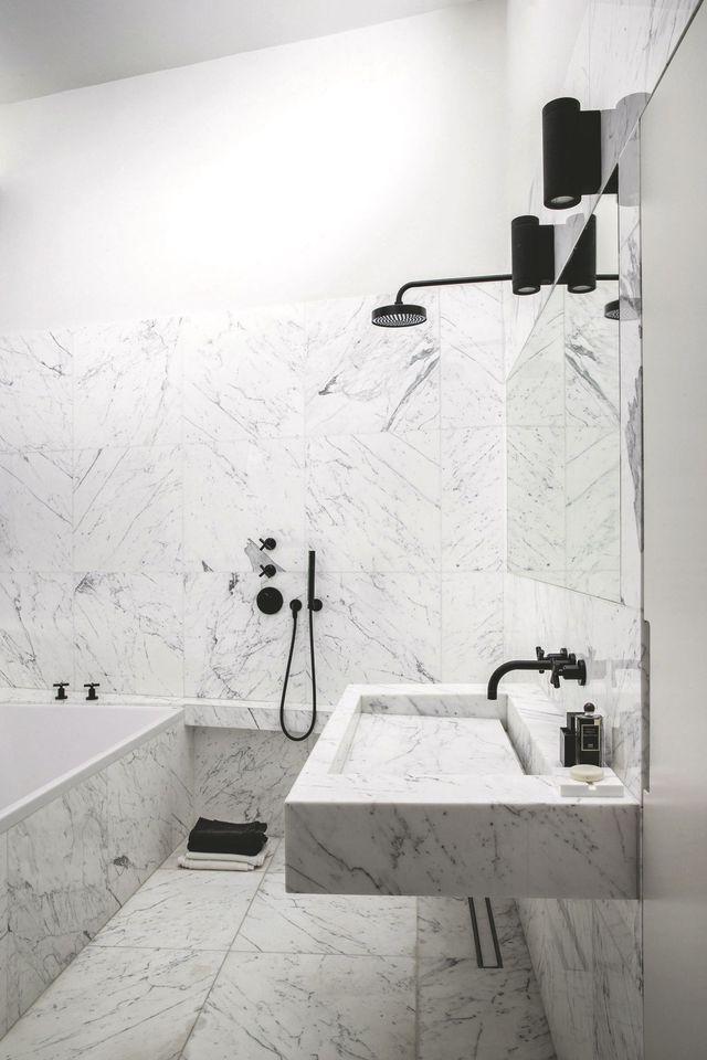 Aménager une salle de bains citadine et design {home} Pinterest