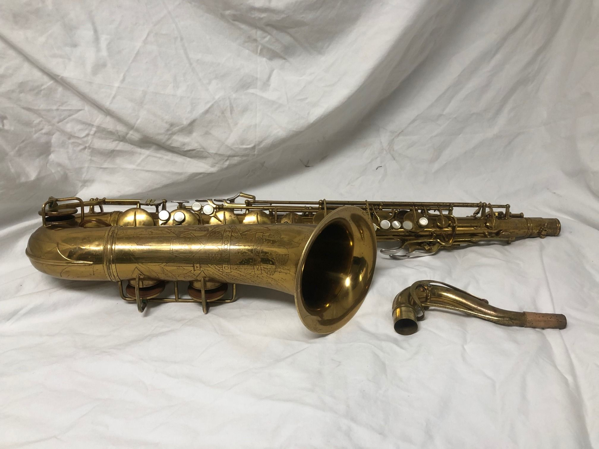 1937 Conn 30M Naked Lady tenor sax FOR SALE at Agave Music