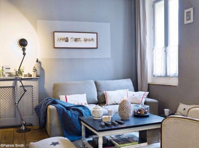 Petit salon découvrez toutes nos idées pour une déco au top elle décoration deco gris petits salons et salon deco