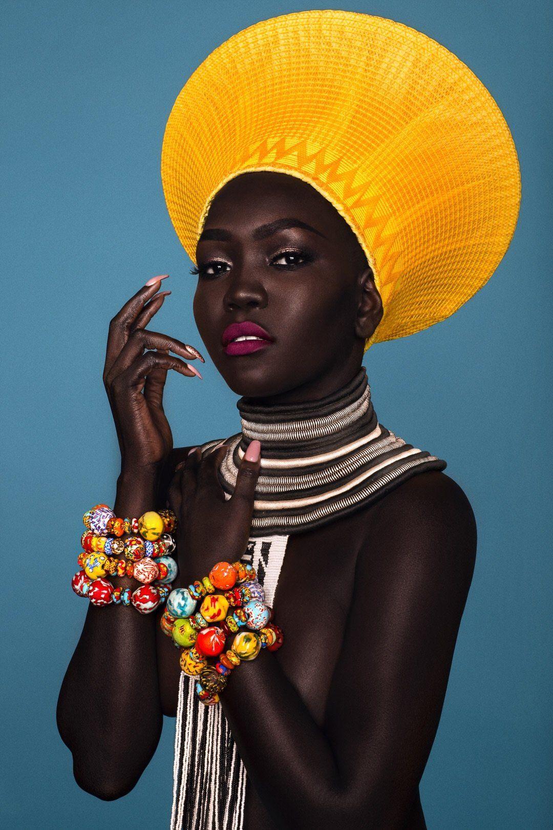 Ghana Trade Beads Krobo Beads Bracelet Black Women Art