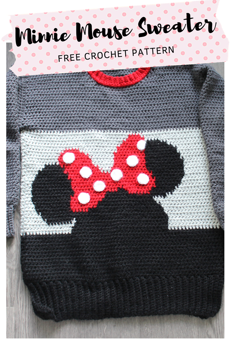 Magnífico Pañal Del Ratón Patrón De Crochet Cubierta Libre De Minnie ...