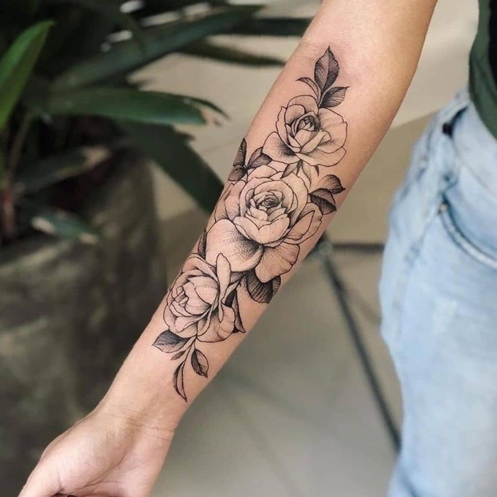 35 Inspiring Arm Tattoo Design Ideas For Women 2020 Sooshell In 2020 Arm Tattoo Tattoos Floral Arm Tattoo