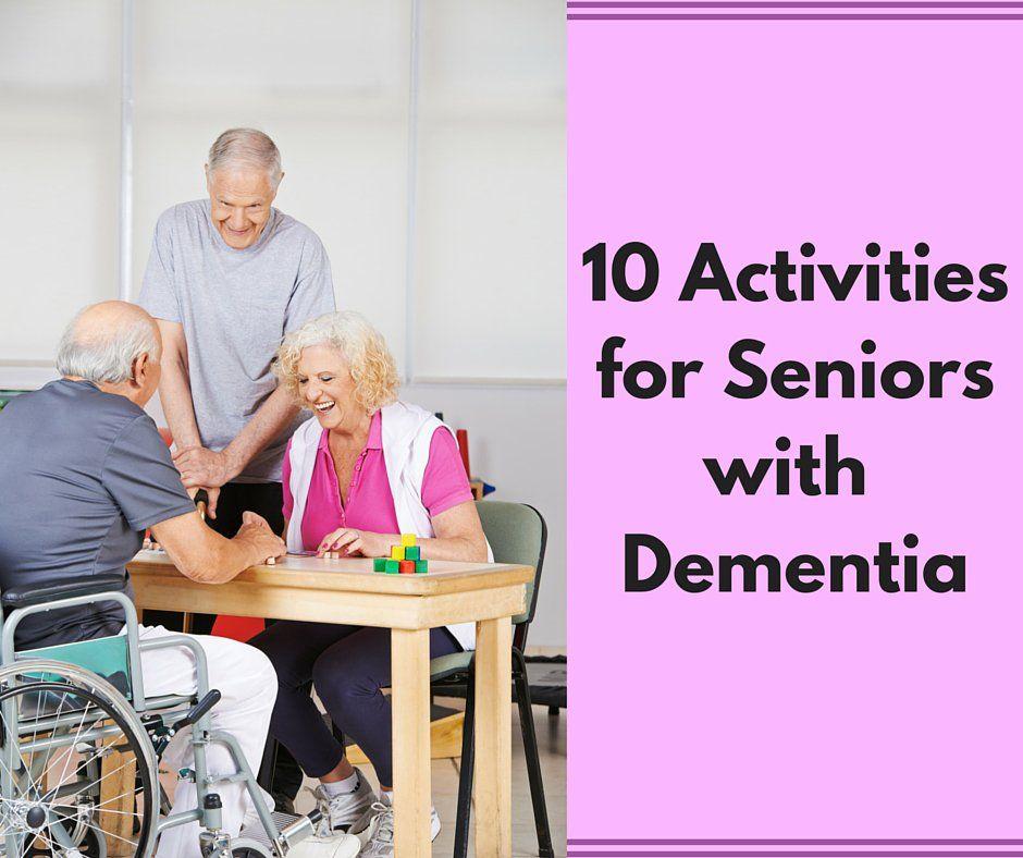 10 Activities for Seniors with Dementia Activities for