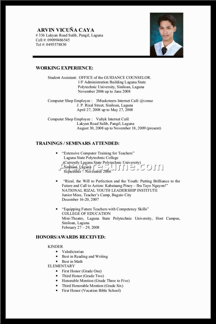 Tags College Student Resume Examples Pics Photos Sample  Home