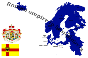 Roman Empire In Scandinavia Mapping By Dimlordoffox Alternate History Historical Maps Fantasy Map