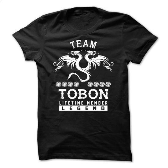 TEAM TOBON LIFETIME MEMBER - #shirt ideas #sweater weather. ORDER NOW => https://www.sunfrog.com/Names/TEAM-TOBON-LIFETIME-MEMBER-yeexiqtjnu.html?68278