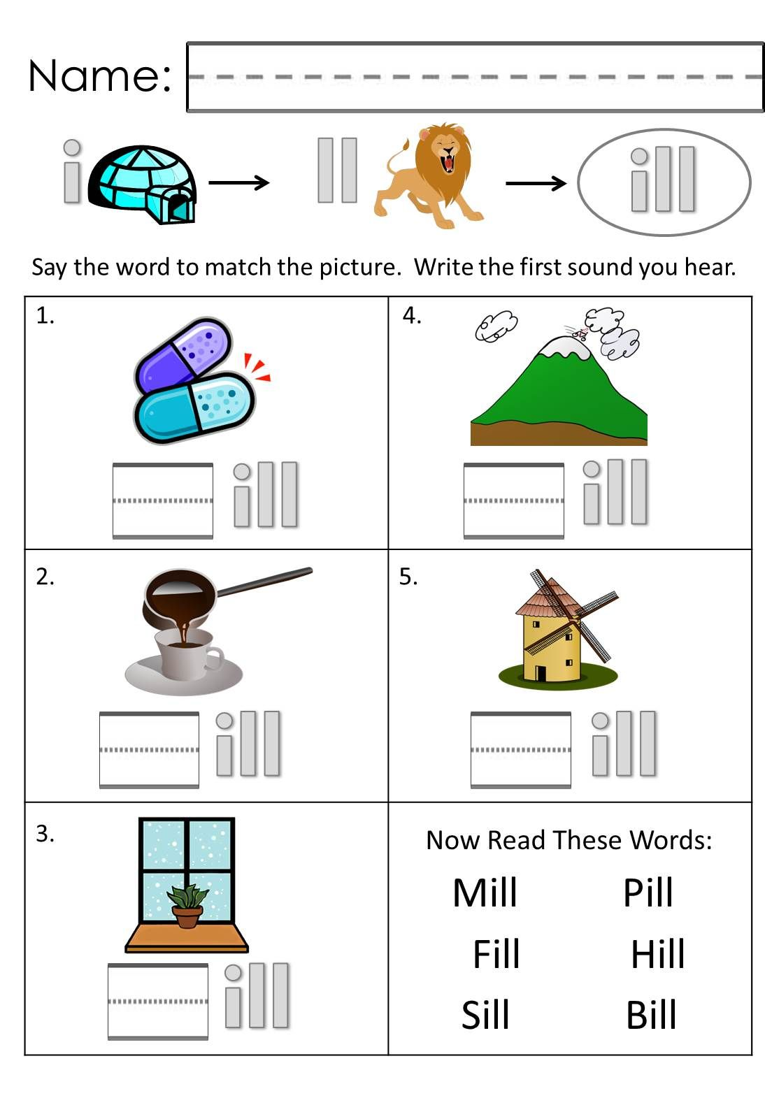 Word Family Worksheets. Teach Phonics and Language Skills With ...