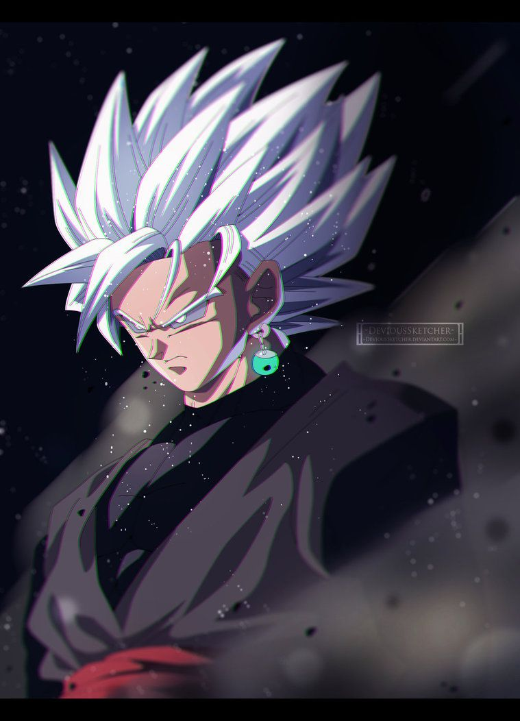Dragon Ball Super Black Goku