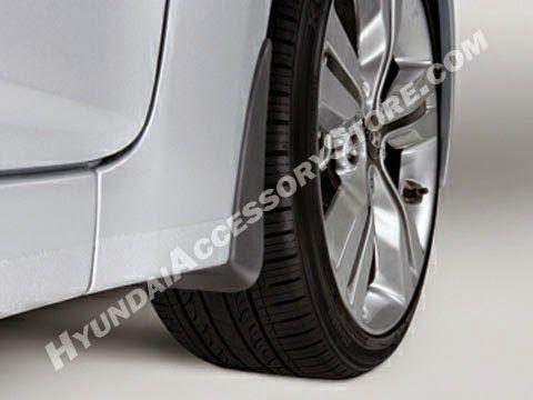 Hyundai Veloster Mud Guards Mud Guards Hyundai Veloster Hyundai