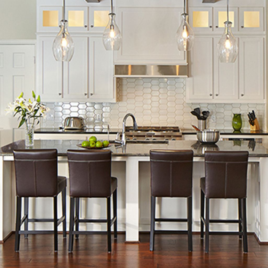Liven Up A Kitchen Backsplash And Ownyourstyle With A Hexagon Motif From Walkerzanger 6th Avenue Co Kitchen Remodel Kitchen Tiles Backsplash Kitchen Redo