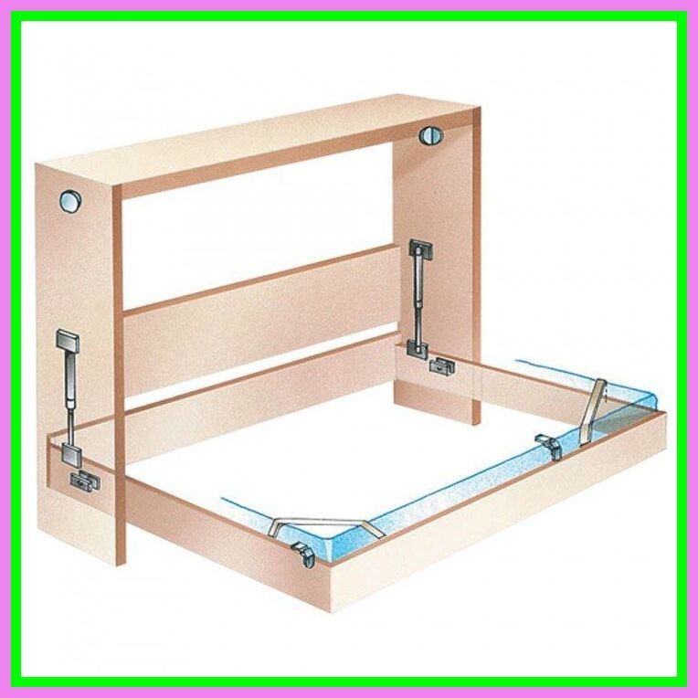 Wall Bed Frame And Mechanism Kits Full Double Bed Size