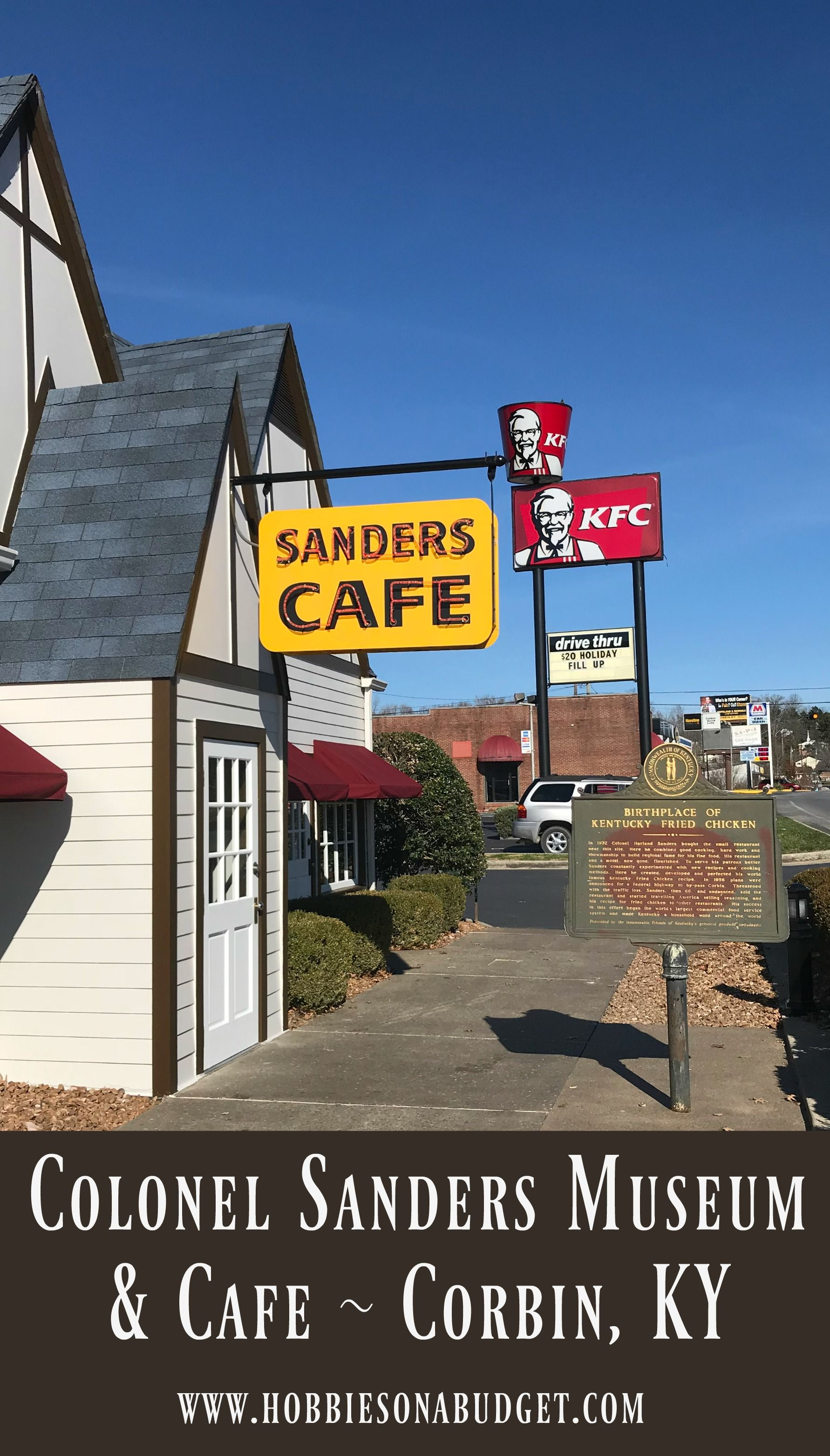 Colonel Sanders Cafe Museum Corbin Ky Hobbies On A Budget Kentucky Vacation Kentucky Travel Midwest Travel Destinations