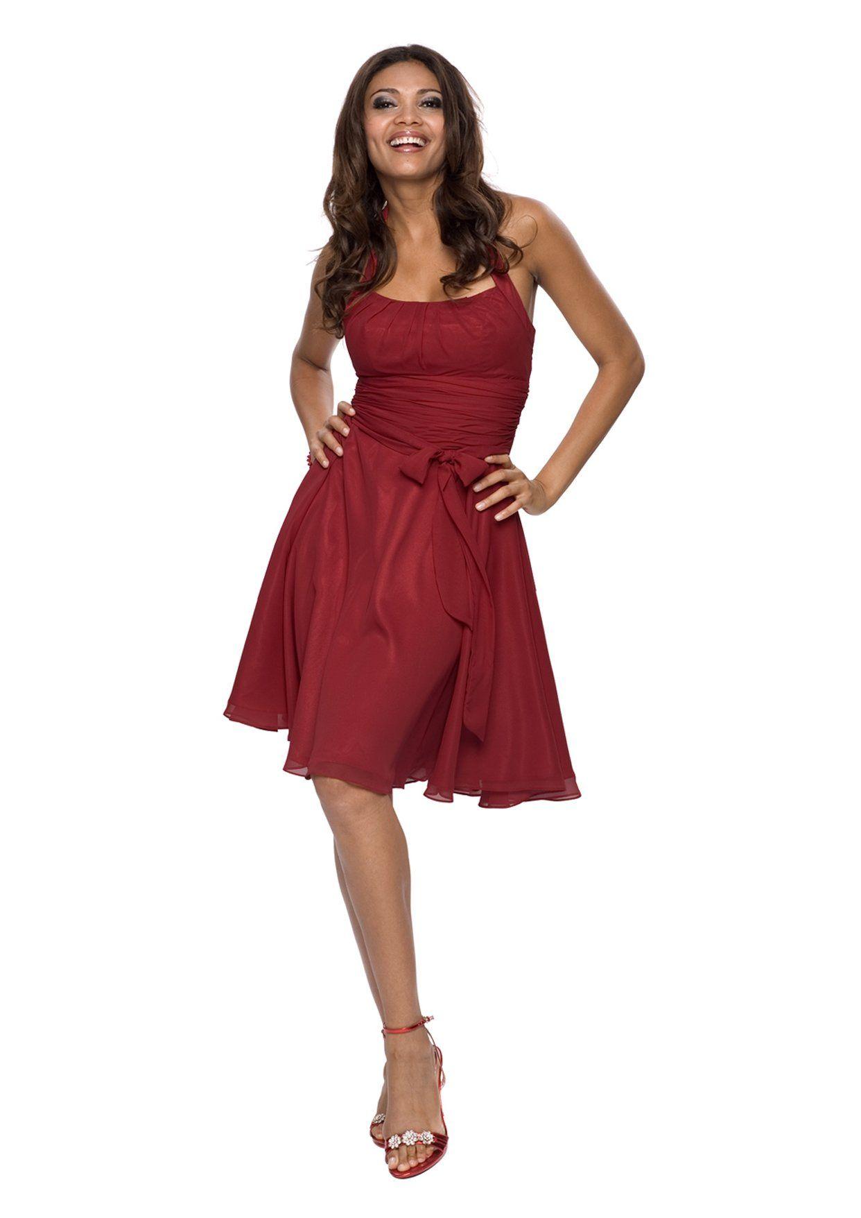 Astrapahl, robe de soirée, robe de cocktail, robe, couleur rouge ...