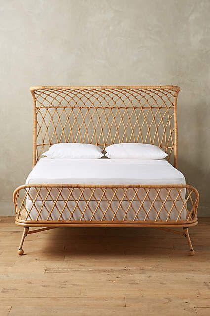 Curved Rattan Bed - anthropologie.com #anthrofave #anthropologie ...