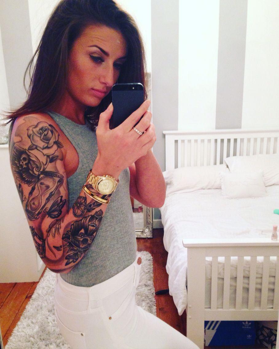 Sleeve tattoo girls with tattoos sleeve tatuajes pinterest