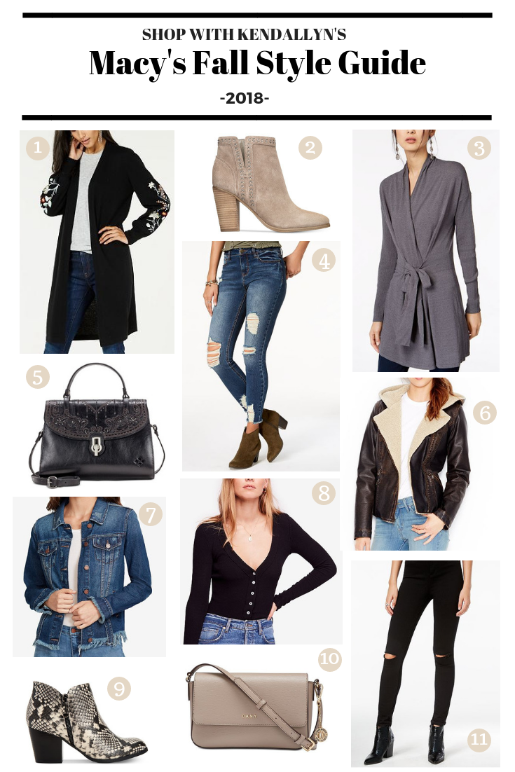 my macy s fall fashion style guide 100 macy s gift card giveaway