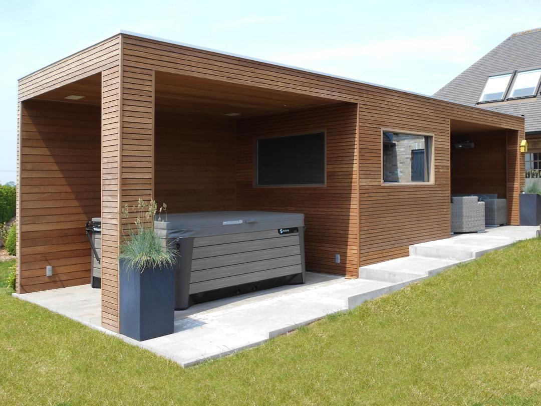 Poolhouse Op Maat Met Jacuzzi Sauna En Lounge Pool House Sur