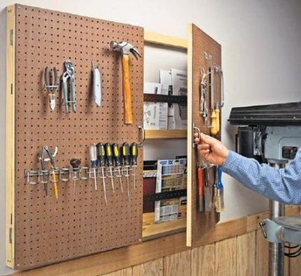 31 + Trendy House Organisation Ideen Garage Peg Boards