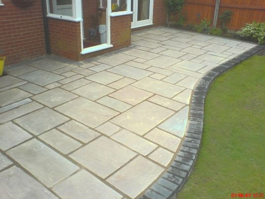 Block Paving. Stone Flags. Indian Stone Patios. Stone Drives