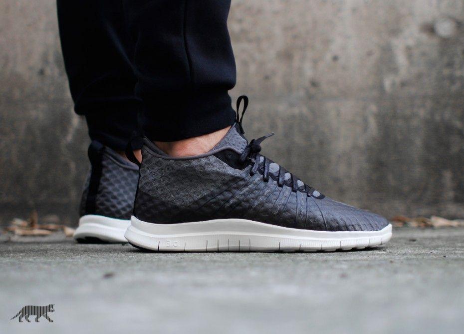 Nike Free Hypervenom 2 FS - Black Dark Grey