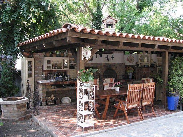 Photoplog Finished Ovens Outdoor Kitchen Outdoor Kitchen Decor Summer Kitchen