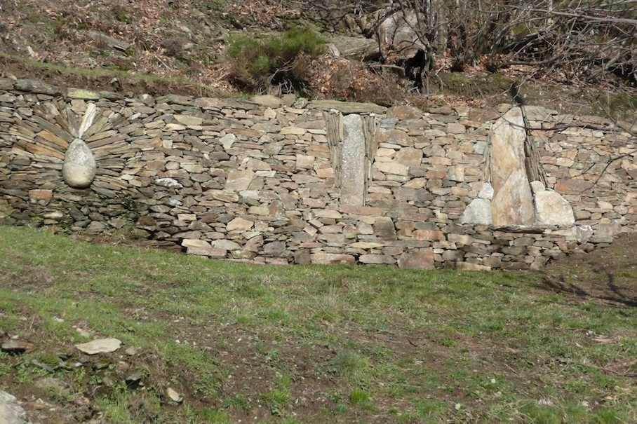 Roland Mousquès Arte con piedra seca Muro de piedra Pinterest