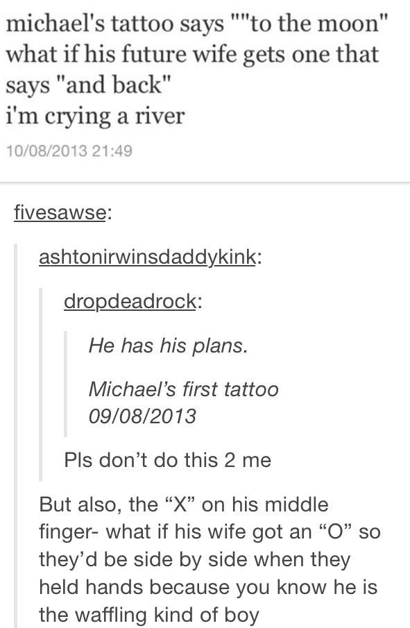 dating michael would include