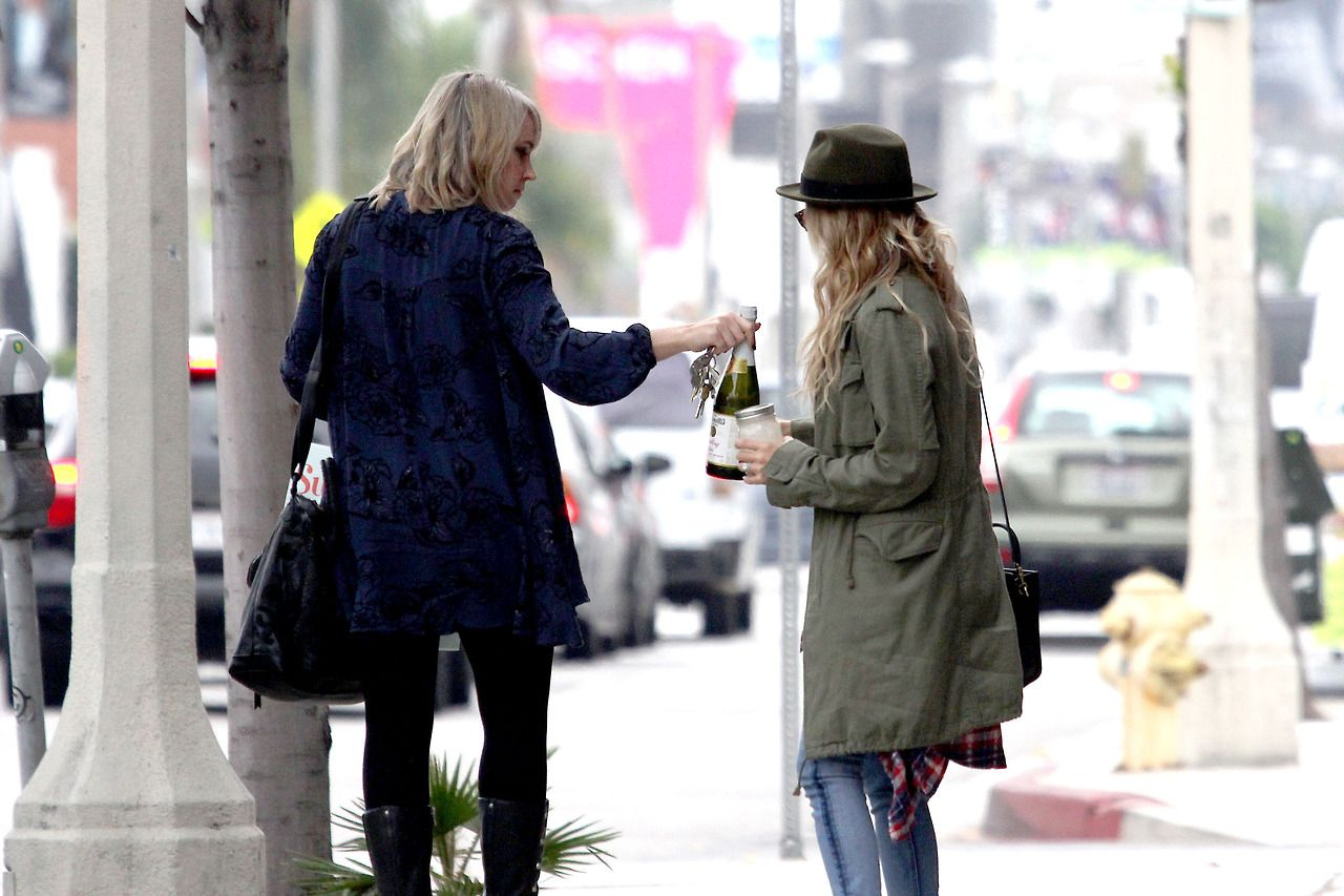CANDIDS: 12 December, Ashley Tisdale shopping with her ...