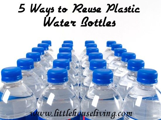 5 ways to reuse your plastic water bottles reuse water for Ways to reuse water bottles