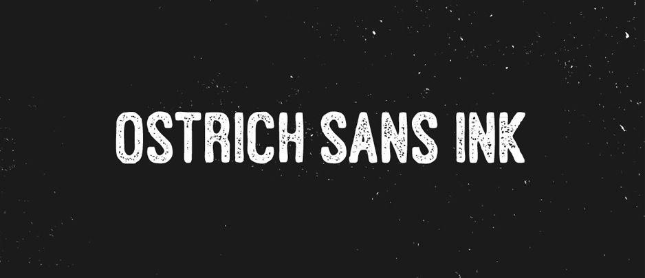 Ostrich Sans_designcuts