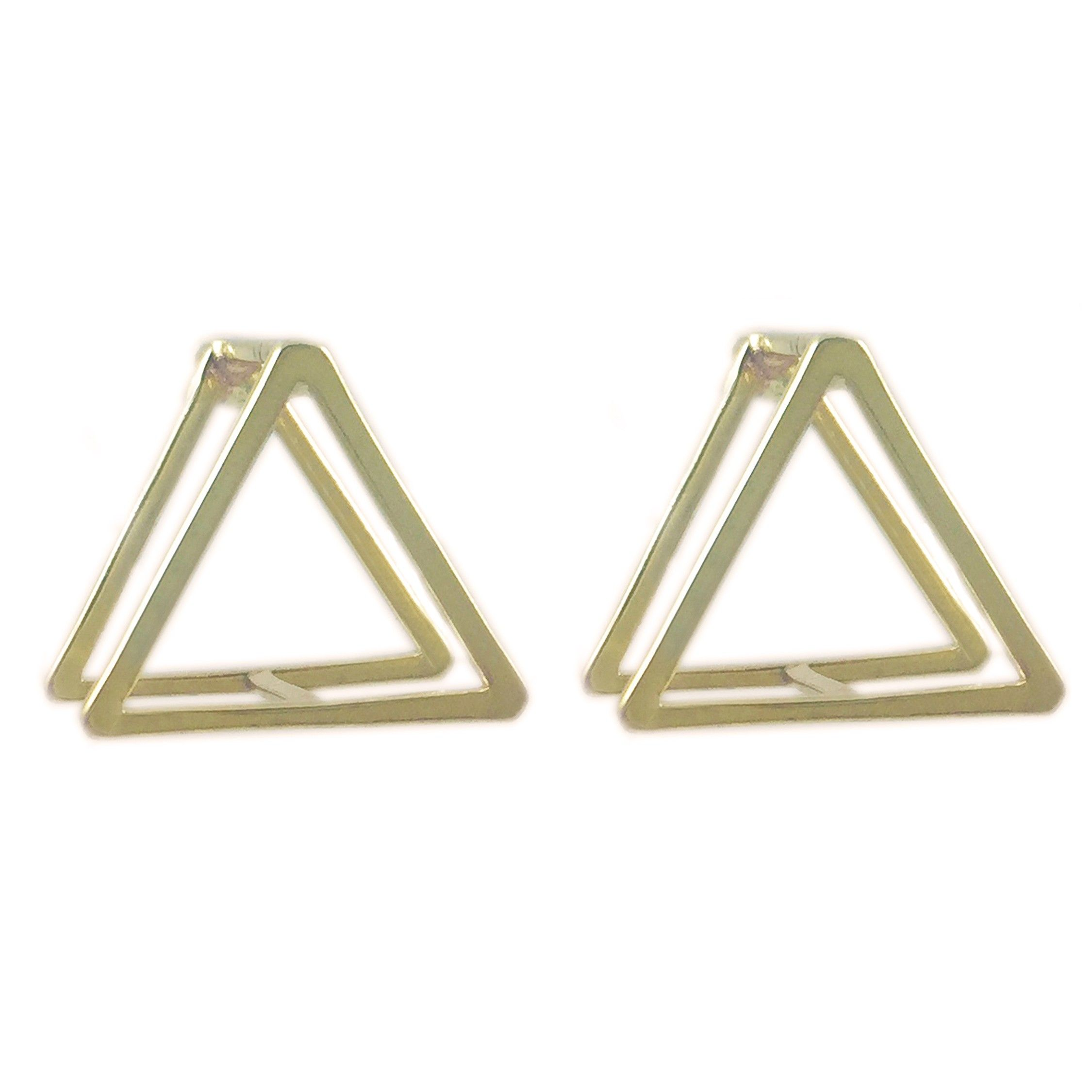 architecture earrings in product box fashion view