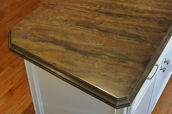 Stain Design   Kitchen Concrete Countertop | Concrete Countertops Design  Gallery
